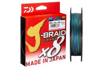 DAIWA J-Braid Grand X8 #0.6 0.06mm 11lb 5kg 150m Multi Color