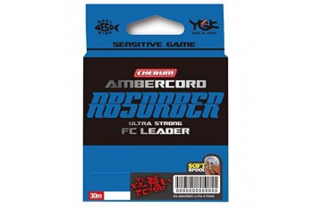 YGK Fluorocarbon Ambercord Absorber Ultra Strong Leader #0.4 2.4lb 0.104mm 30m