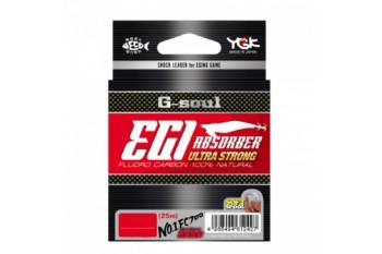 YGK Fluorocarbon G-Soul EGI Absorber Ultra Strong #1.5 7.8lb 0.204mm 25m