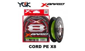 X-Braid Cord PE X8